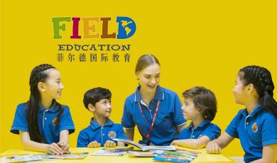 菲尔德国际少儿英语朋友圈广告